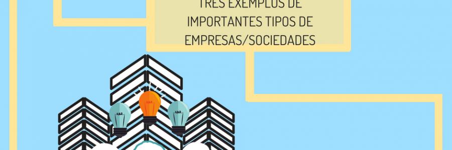 Quais os três principais tipos empresariais no Brasil?