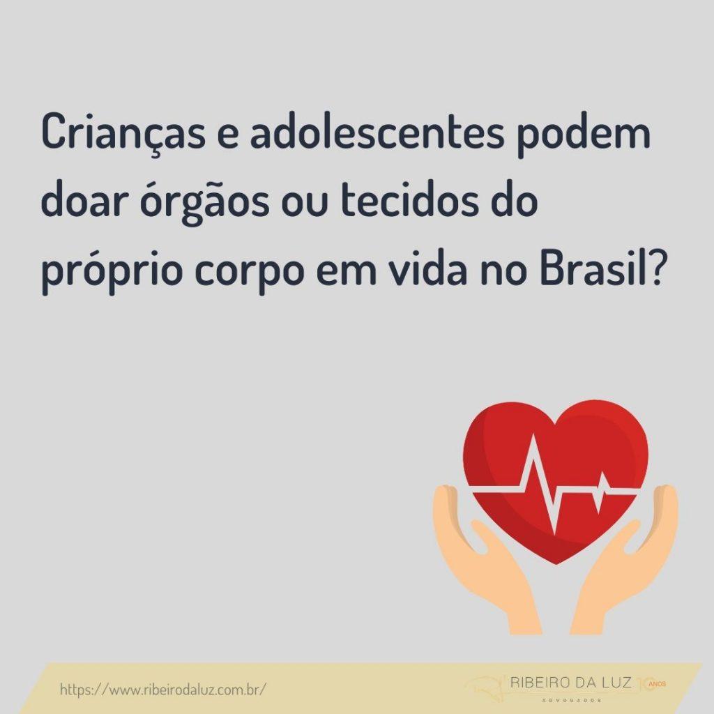 """Crianças e adolescentes podem doar órgãos ou tecidos do próprio corpo em vida no Brasil? Uma análise do filme """"Uma prova de amor""""."""